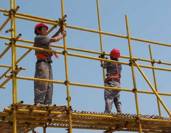 上海钢管脚手架搭建施工